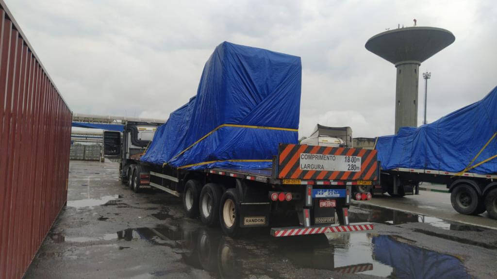 Transportadora Navegantes, transporte rodoviário em território nacional
